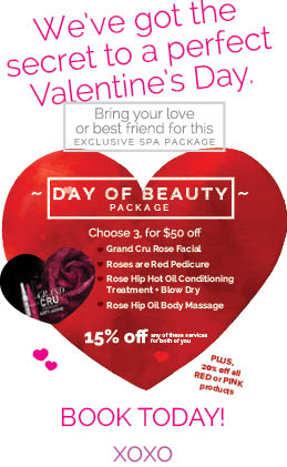 Exclusive Valentine's Package